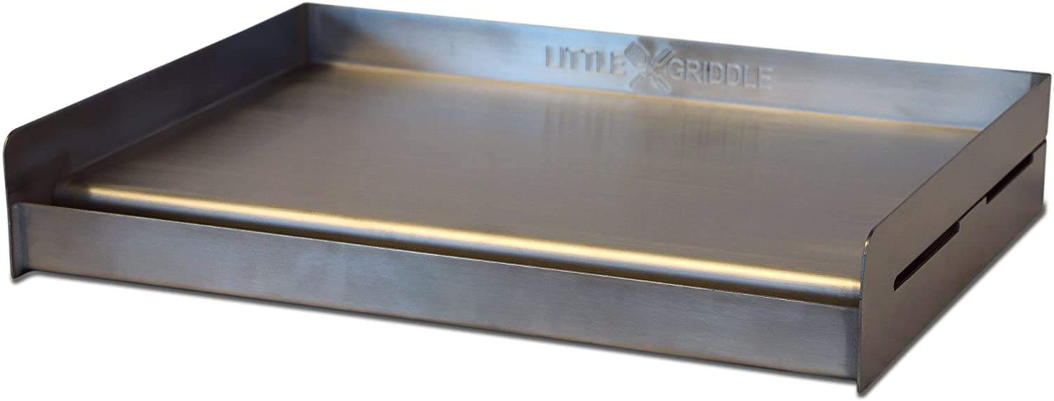 Best griddle for your existing grill- Little Griddle Sizzle-Q SQ180