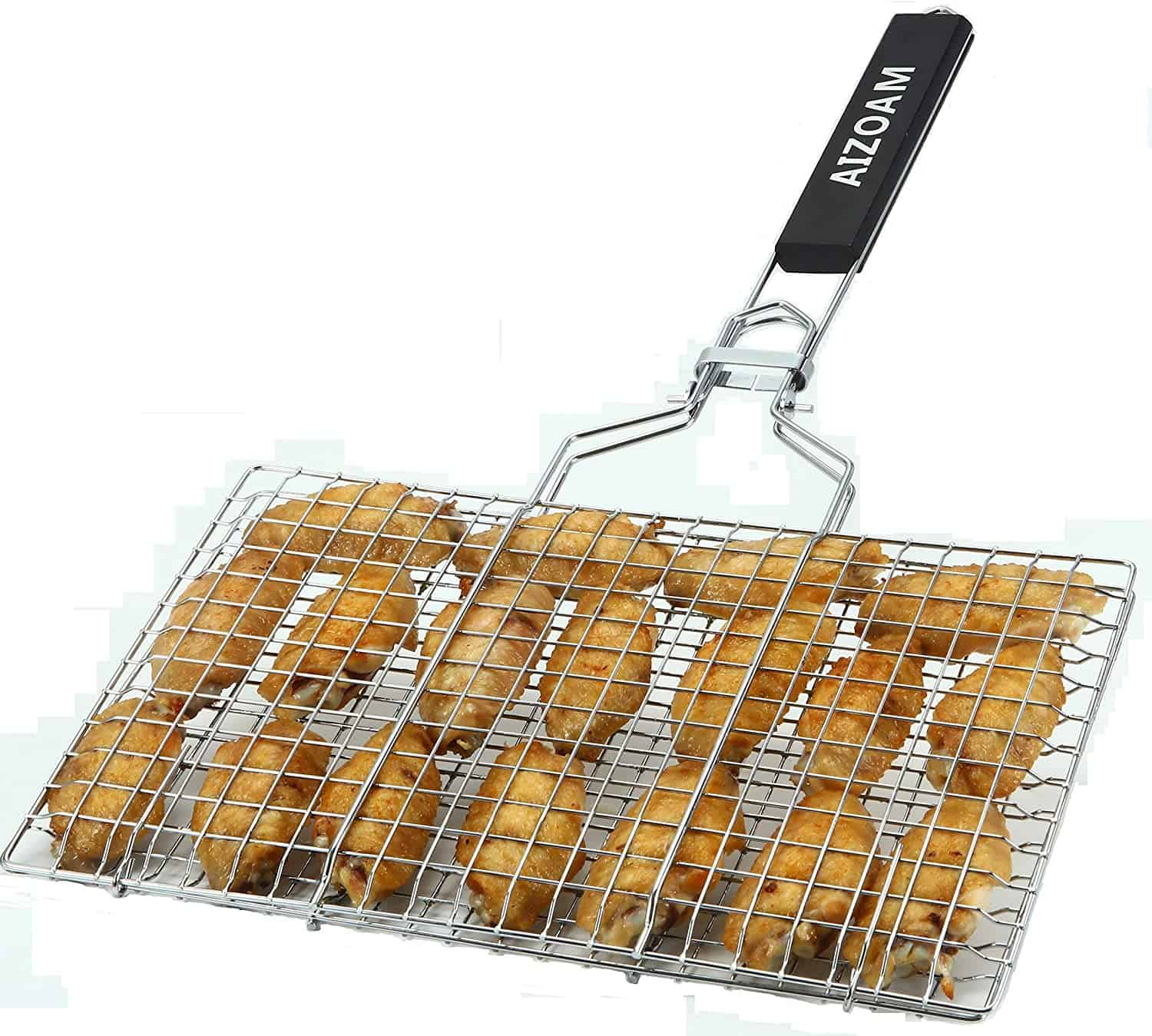 Best grill basket for camping- AIZOAM Portable Grilling Basket