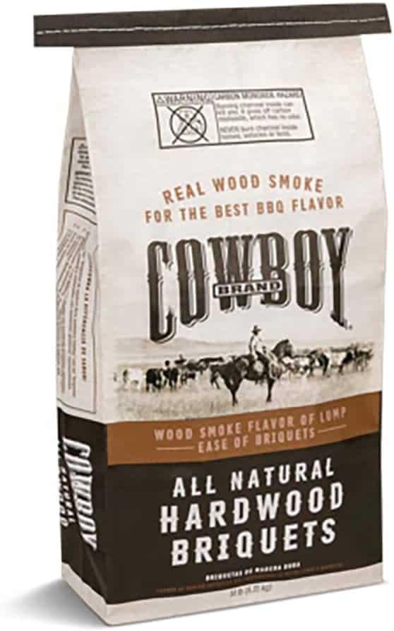 Best old-school charcoal briquettes- Duraflame Cowboy Natural Hardwood
