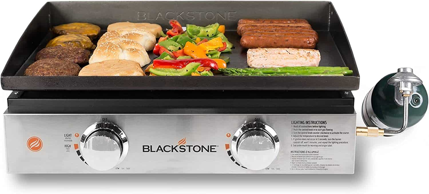 """Best portable gas griddle- Blackstone Table Top Grill 22"""""""