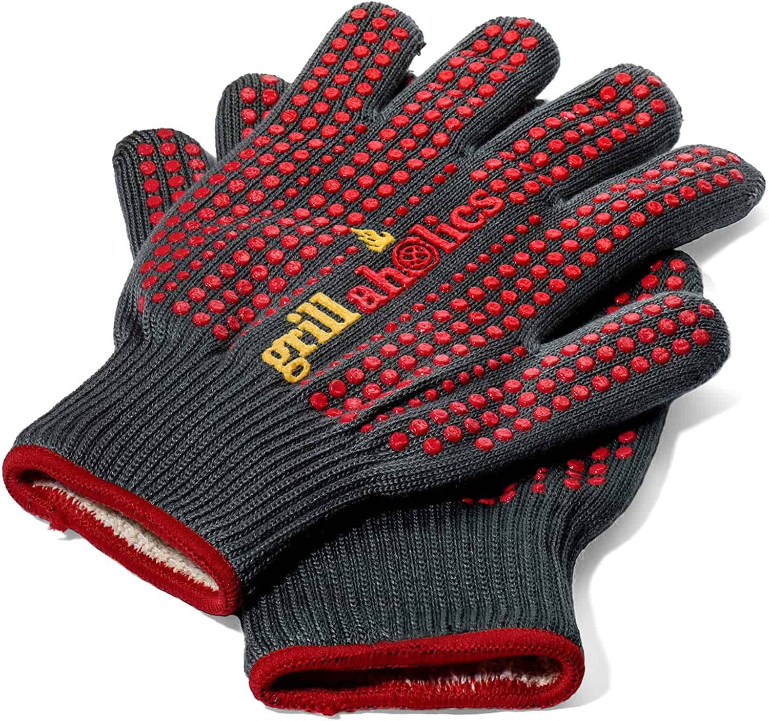 Best silicone BBQ gloves- Grillaholics Silicone Barbecue Gloves