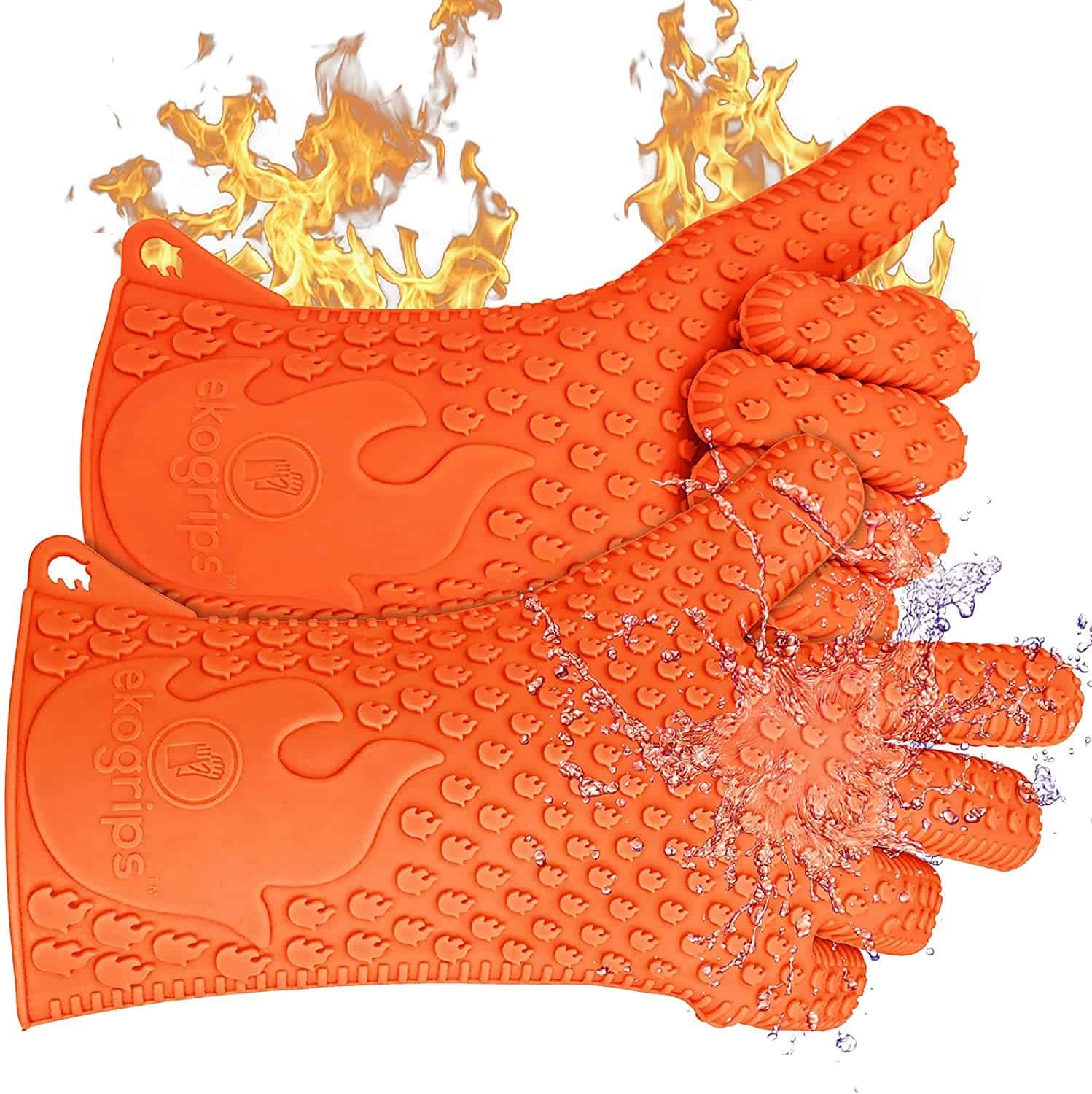Easiest to clean BBQ gloves- Jolly Green Products Ekogrips Premium