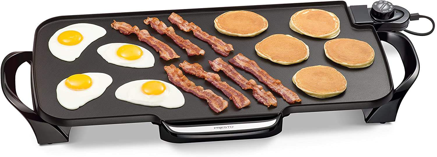 Most simple flat top grill- Presto Electric Griddle
